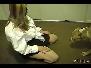 Beautiful And Flirtatious Girl Doing Secret Bestiality At Home (part 4)