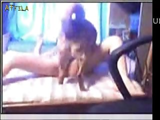 494 Teen And Dog On Cam Female Male Dog