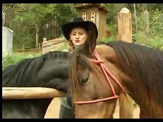 Bfi Adilia 3 Girls One Horse (part 6)