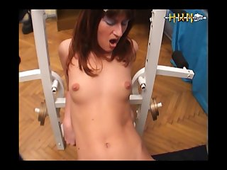 2 Girls Fucked By Dog  (part 1)